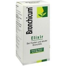BRONCHICUM Elixir 250ml PZN 3728305