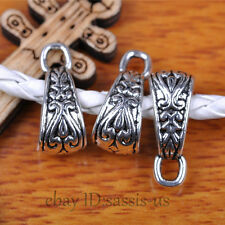 40pcs Charms Tibet Silver Connector Bail For Pandent DIY Jewery Making A7288