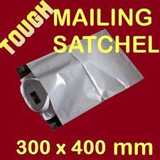 100 pcs  300mmx400mm TOUGH Post Poly Courier bag mailer mailing Satchel satchels