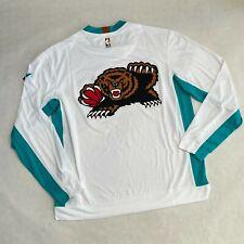 NWT Nike NBA Vancouver Memphis Grizzlies Team Player Issued Shooting Shirt XLT
