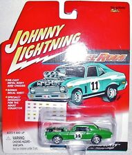 JOHNNY LIGHTNING 2001 RELEASE REBEL RODS KING KITTY 1967 MERCURY COUGAR MINT