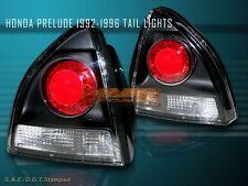 1992-1996 HONDA PRELUDE ALTEZZA TAIL LIGHTS COUPE 2 DOOR JDM BLACK