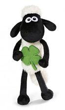 NICI Shaun das Schaf  mit Kleeblatt  25cm Schlenker 40666 Plüsch Stofftier
