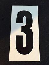 Go Kart - Number #3 - White Background - Large - NEW