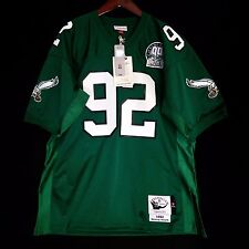 23756fa98 ... low price 100 authentic reggie white mitchell ness eagles nfl jersey  mens size d59a6 274a3 canada midnight green ...