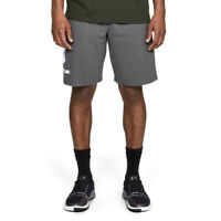 Under Armour Mens Sportstyle Graphic Shorts Pants Trousers Bottoms Grey