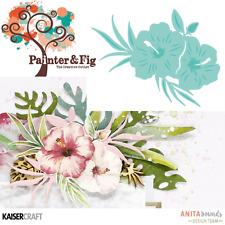 Kaisercraft Hibiscus Dies - Tropical Flower, Flowers