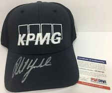 PHIL MICKELSON SIGNED AUTOGRAPHED GOLF HAT KPMG CALLAWAY MASTERS US PGA PSA/DNA