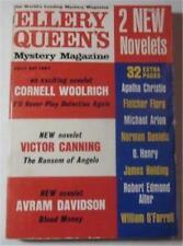 ELLERY QUEEN MYSTERY MAGAZINE JULY 1963 CORNELL WOOLRICH NORMAN DANIELS