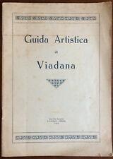 ADELAIDE GIANNINI GUIDA ARTISTICA DI VIADANA MANTOVA 1926 NON COMUNE