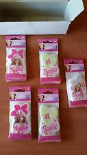 BARBIE CANDLES BARBIE, HEARTS & FLOWERS FOR PARTY, BIRTHDAY CAKE TOPPER 5 COUNT