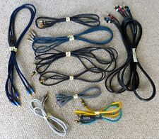 Lot Monster Cable Misc AV cable RCA Audio Video Coax Tributaries CS2 Interlink