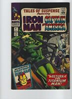 Tales of Suspense #81 Iron Man Captain America VF- or better