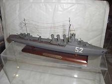 Maquette en bois du torpilleur SIROCCO longueur 27cm 2eme guerre