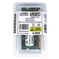 1GB SODIMM Dell Latitude 120L 131L 2100 D120L D410 D420 D510 D520 Ram Memory