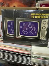 "The Radiators LP 10 "" From Sapce TV Tube Heart Yellow Vinyl 2021 Sealed"