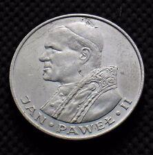 SILVER 1000 ZLOTY 1982 COIN OF POLAND - POPE JOHN PAUL II (JAN PAWEL II) Ag (D)