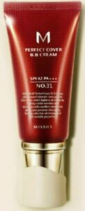 MISSHA Perfect Cover BB Cream SPF42 PA+++ NO.31 Golden Beige MADE IN KOREA ~ K9