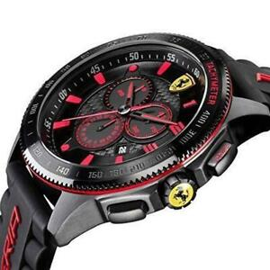 Scuderia Ferrari 0830138 Men's CHRONOGRAPH ANALOG SPORTS WATCH RRP £199
