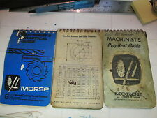 Vintage Morse Cutting Tools Machinist's Practical Guide For Carbide Tooling Plus