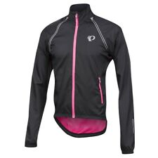 Pearl Izumi 2018 Elite Barrier Convertible Cycling Jacket Black/Pink Small