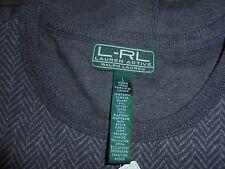 New W/ Tag Lauren Acitve L-RL Ralph Lauren Long Sleeve Pullover Sz L Retail $80