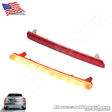 Cadillac CTS POWER LED rear bumper reflectors in OEM Housing, 14 15 16 17