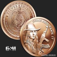 1 oz Copper Round - Come and Take It