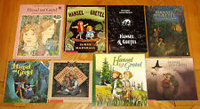 Lot 8 HANSEL AND GRETEL Picture Books Zelinsky Jeffers Marshall fairy tale L1