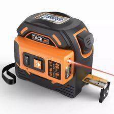 Tacklife Laser Tape Measure2-in-1 Laser/131Ft,Tape/16 Ft,Inch/Metric LCD Display