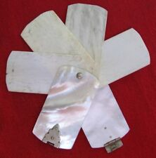 Fine Antique Desirable Small Size Victorian Mother Of Pearl Pocket Diary