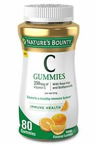 Nature's Bounty Vitamin C, 80 Count 80 (Pack of 1)