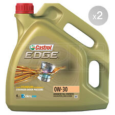 Castrol Edge TITANIUM 0W-30 Synthetic Engine Oil 0W30 - 8 Litres: 2 x 4L