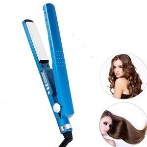 Salon Straightening Hair Iron Hair Flat Iron 11/4 Nano Titanium 450F Temperature