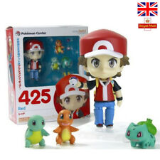 Pokemon Ash Ketchum Bulbasaur Charmander Squirtle 4'' Action Figures Anime Toys