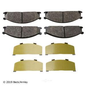 Disc Brake Pad Set Front Beck/Arnley 089-1296