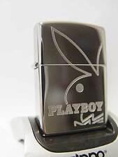 Zippo ® Playboy Rabbit Head deep engraved logo chrome high polished Neu/ New OVP