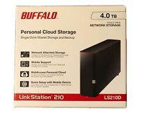 LinkStation 210 4TB Personal Cloud Storage Network Hard Drive NAS