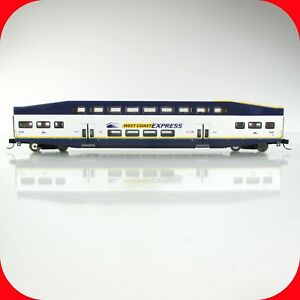 N Scale BOMBARDIER West Coast Express Passenger Coach Car #206 -- ATHEARN 24422