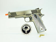 Metal gun scale model Smith and Wesson 945 SE 15cm Gray miniature gun model U