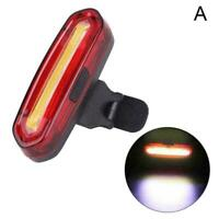120 Lumens LED Bike Tail Light USB Rechargeable Powerful Bicycle Rear Light P4L1