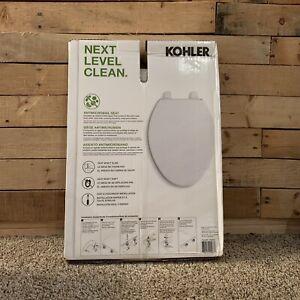 Kohler Layne Elongated Toilet Seat Slow Close Antimicrobial New Seat Is Sealed