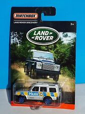 Matchbox Wal-Mart Land Rover Series Land Rover Discovery Silver