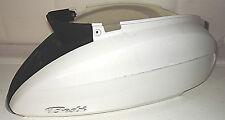 Carénage arrière, Panneau arrière Blanc Original Pour DAELIM BESBI 125 usé