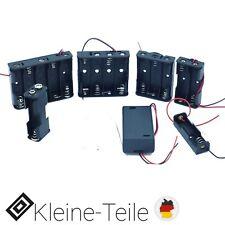 Batteriehalter AA Mignon Gehäuse Case für 1x/2x/3x/4x/5x Batterien Schalter