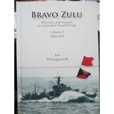 Bravo Zulu Honours and Awards to RAN Members New Book