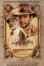 "Indiana Jones & Last Crusade Original 1-Sheet Movie Poster 27""x40""- Rolled"