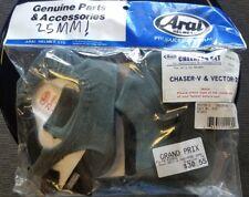 Arai Helmet 25mm Vector Cheek pads Set Cheekpads Chaser 25 mm Padding Pair