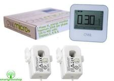 OWL Micro+ CM180 XL 2 Phase Wireless Energy Monitor, Max 200A per phase 100-400v