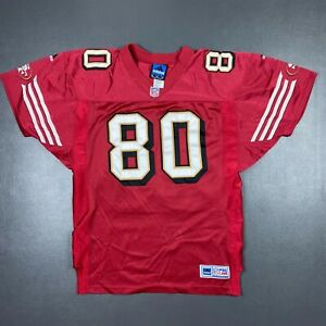 100% Authentic Jerry Rice Adidas 49ers Jersey Size 46 L XL Mens